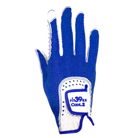 Cool II FIT39 Golf Glove - Blue/White (Right-Hand)