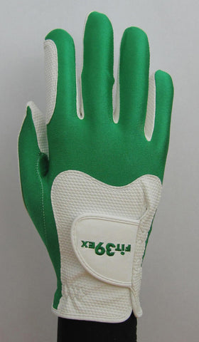 Copy of FIT39 Golf Glove - Green/White (Right Handed)