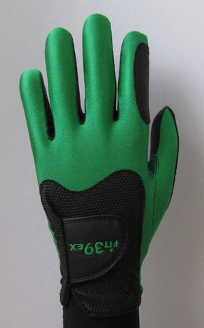 FIT39 Golf Glove - Green/Black