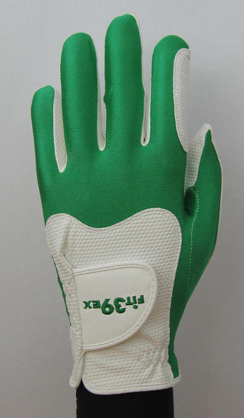 green and white glove golf