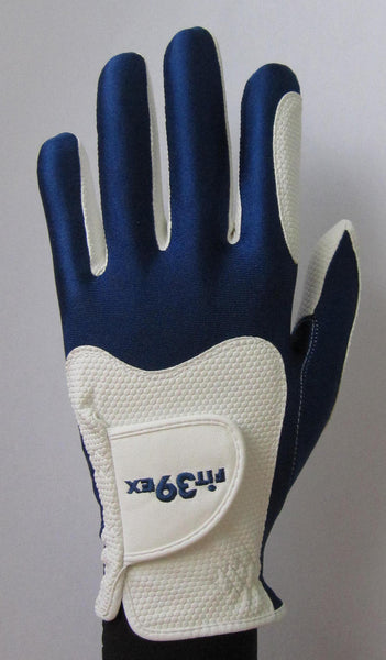 FIT39 Golf Glove - Navy/White