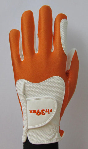 FIT39 Golf Glove - Orange/White