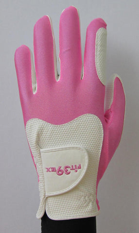 FIT39 Golf Glove - Pink/White