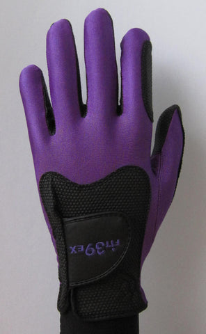 FIT39 Golf Glove - Purple/Black