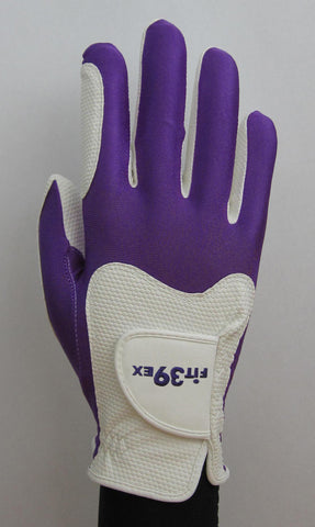 FIT39 Golf Glove - Purple/White (Right-Hand)