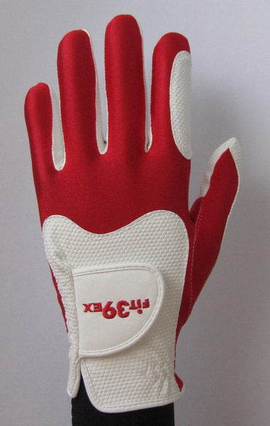 FIT39 Golf Glove - Red/White