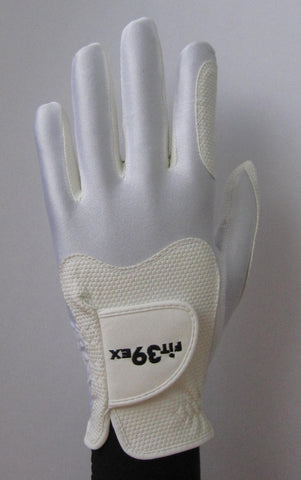 FIT39 Golf Glove - White/White