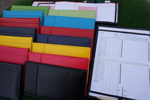 MiClub Leather Scorecard holder