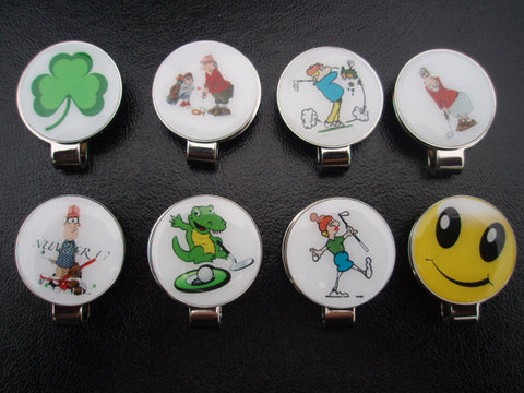 Baked Golf Ball Markers