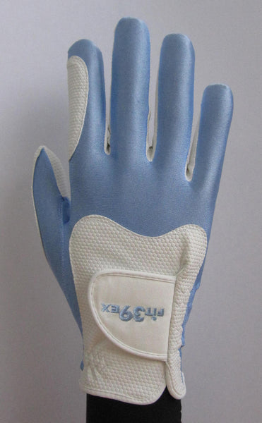 FIT39 Golf Glove - Blue/White (Right-Hand)