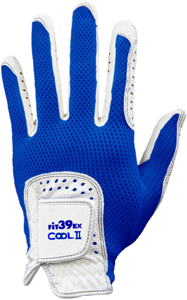 Cool II FIT39 Golf Glove - Blue/White