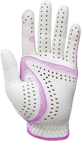 Cool II FIT39 Golf Glove - Pink/White