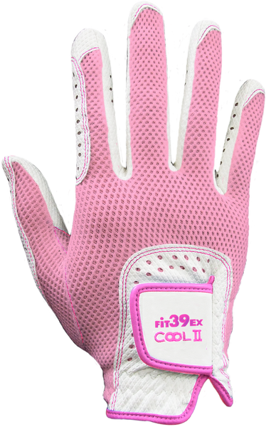 Cool II FIT39 Golf Glove - Pink/White (Right-Hand)