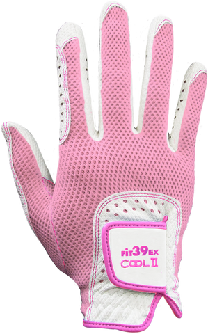 ladies pink golf glove