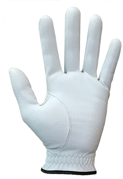 Professional FIT39 Golf Glove - White/White