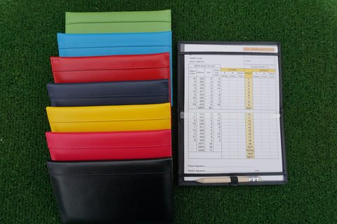 Traditional Leather Scorecard Holder