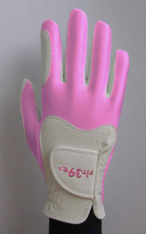 FIT39 Golf Glove - Pink/White (Right-Hand)