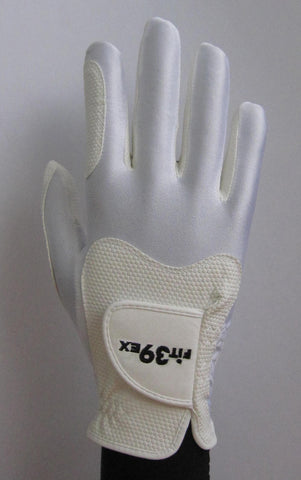 white golf gloves
