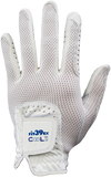 Cool II FIT39 Golf Glove - White/White