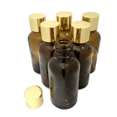 Gold Cap 30ml - 6 Bottles