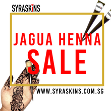 Load image into Gallery viewer, 5+1 Fresh Jagua Henna - SyraSkins Pte. Ltd.