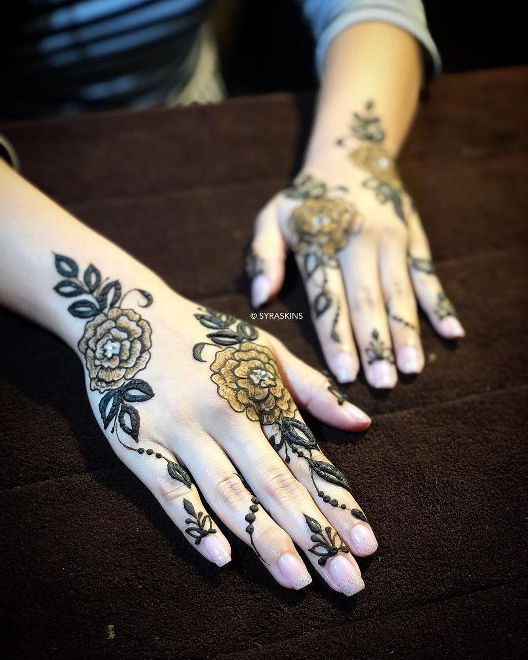 Henna Class 3 - Botanical Design (3 Hours) - SyraSkins Pte. Ltd.