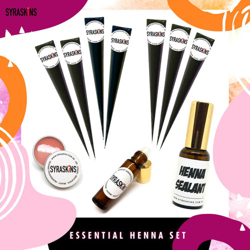 ESSENTIAL Henna Set - SyraSkins