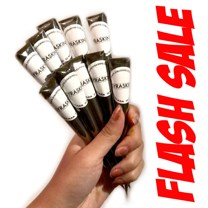 FLASH SALE 10 Fresh Henna Cones - SyraSkins Pte. Ltd.
