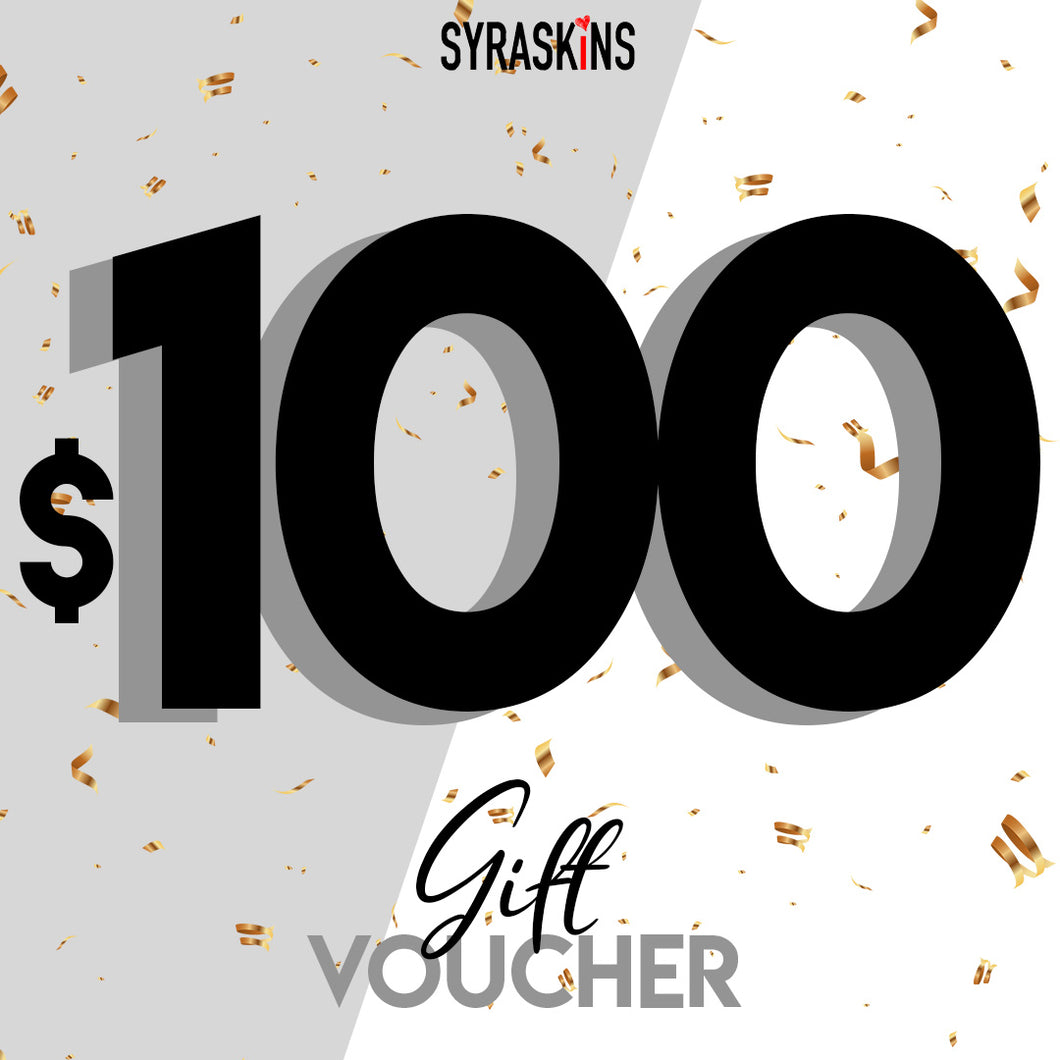 $100 GIFT CARD - SyraSkins Pte. Ltd.