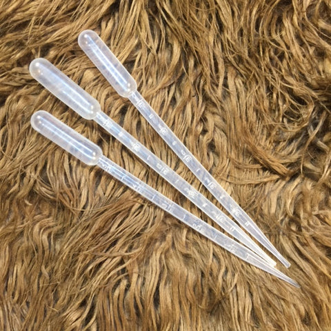 Pipettes 3 pcs