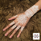 Waterproof White Henna - 1 Cone