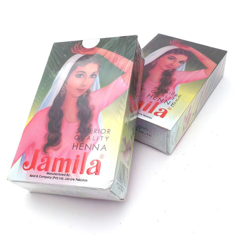 Jamila Henna Powder - 10 boxes PROMO
