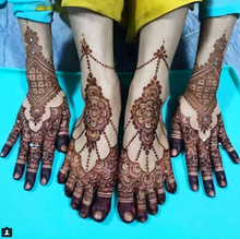 Load image into Gallery viewer, 1 Fresh Henna Cone - SyraSkins
