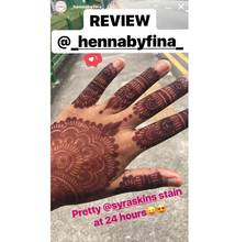Load image into Gallery viewer, 10 Fresh Henna Cones - SyraSkins