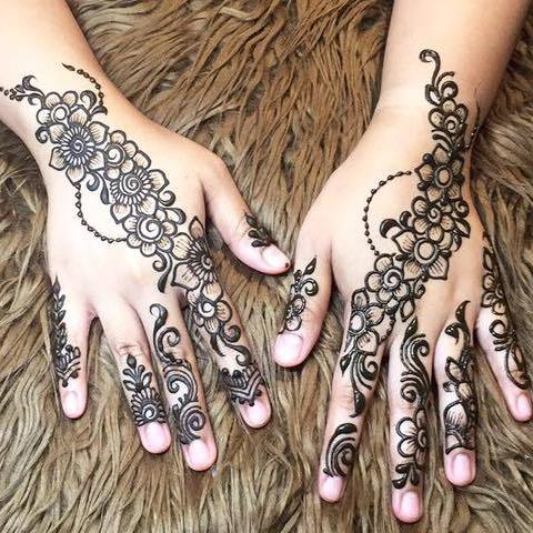 Henna Class 2 - Basic Floral Design (3 Hours)