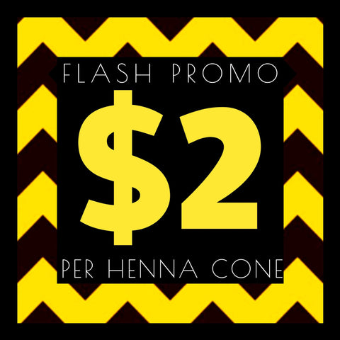 FLASH SALE Henna
