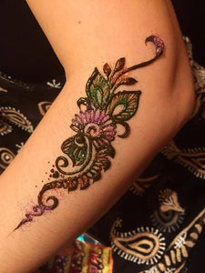 Henna Class 7 - Indian Party Designs (3 Hours) - SyraSkins