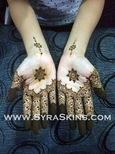 Henna Class 6 - Lace Design (3 Hours) - SyraSkins