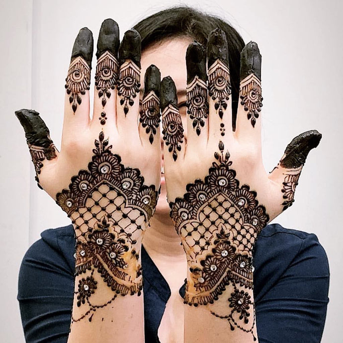 Bridal Henna Booking Deposit - SyraSkins