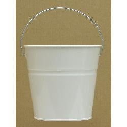 Pails 2-Qt white Powder-Coated