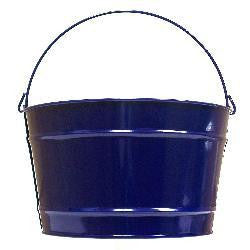 Pails 16-Qt Navy Blue Decorati