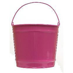 10 qt. Pink Decorative Pail