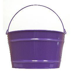 Pails 16-Qt Purple Decorative