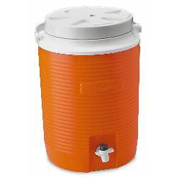 Orange 2-Gal Water Cooler