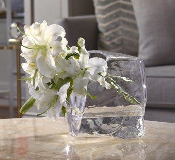 ASHLEY GLASS ACCENT VASE