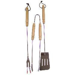 3-Pc Deluxe Barbeque Tool Set