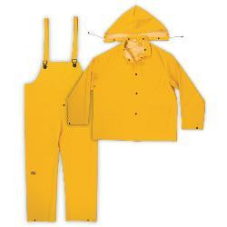 2XL Yellow Rainsuits