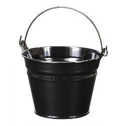 1 1/8 qt. Ebony Black Pail