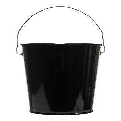 Pail 5qt Powder Coat Black