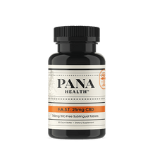 Load image into Gallery viewer, Pana Health F.A.S.T. 25mg CBD Tablets